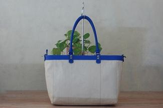tas-kulit-dinna kanvas blue clfskin