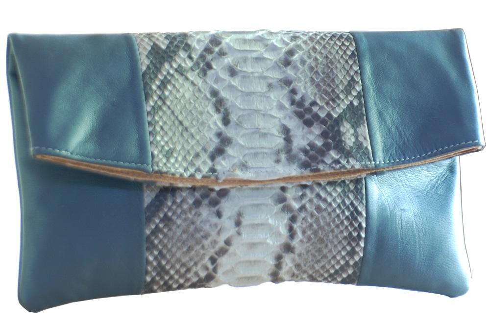 tas-kulit-denissa-natural-python-combine-grey-calf-skin