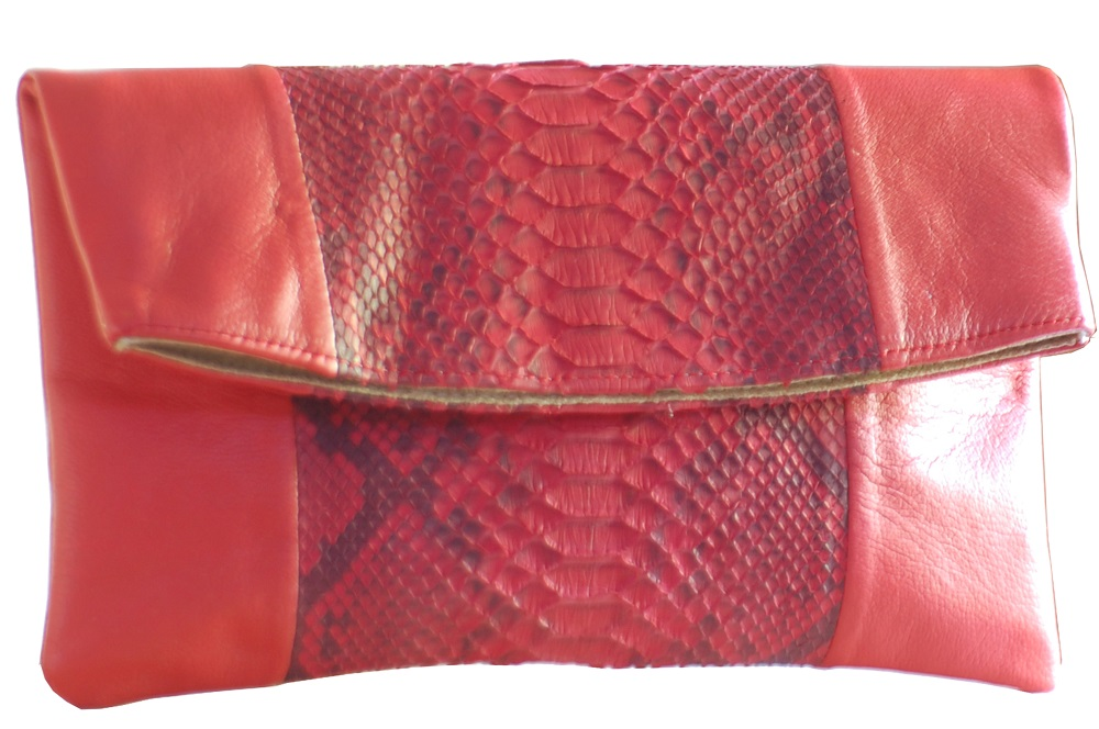 tas-kulit-denissa-red-python-combine-calf-skin