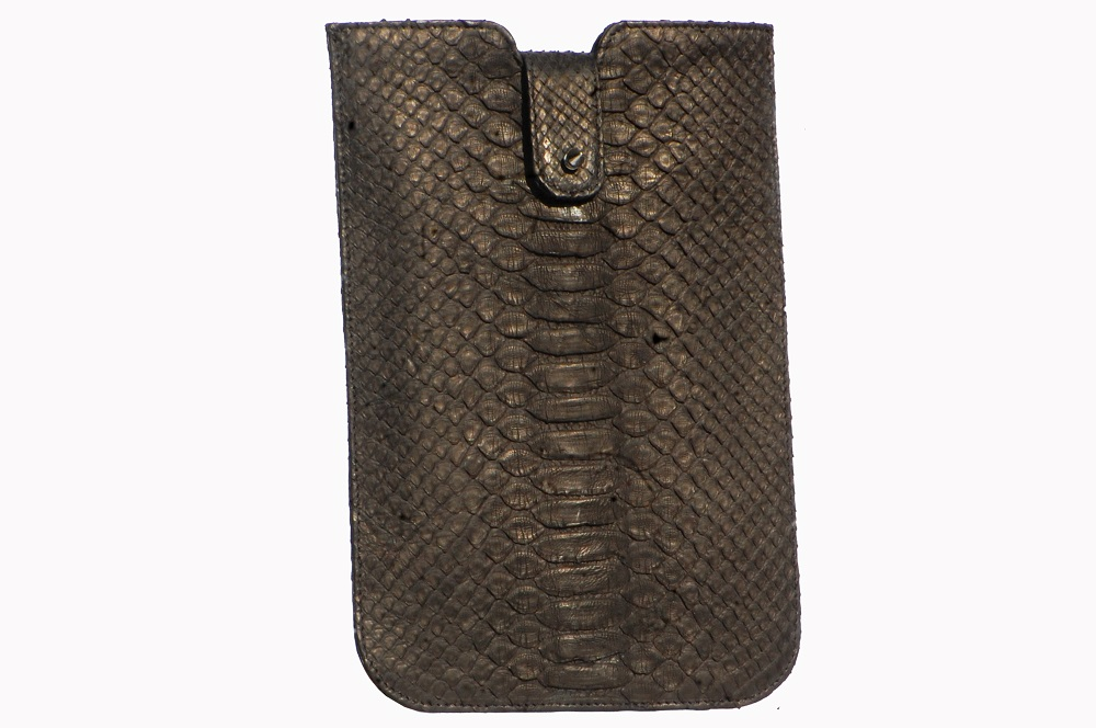 tas-kulit-ipad-air-sleeve-black-python-leather